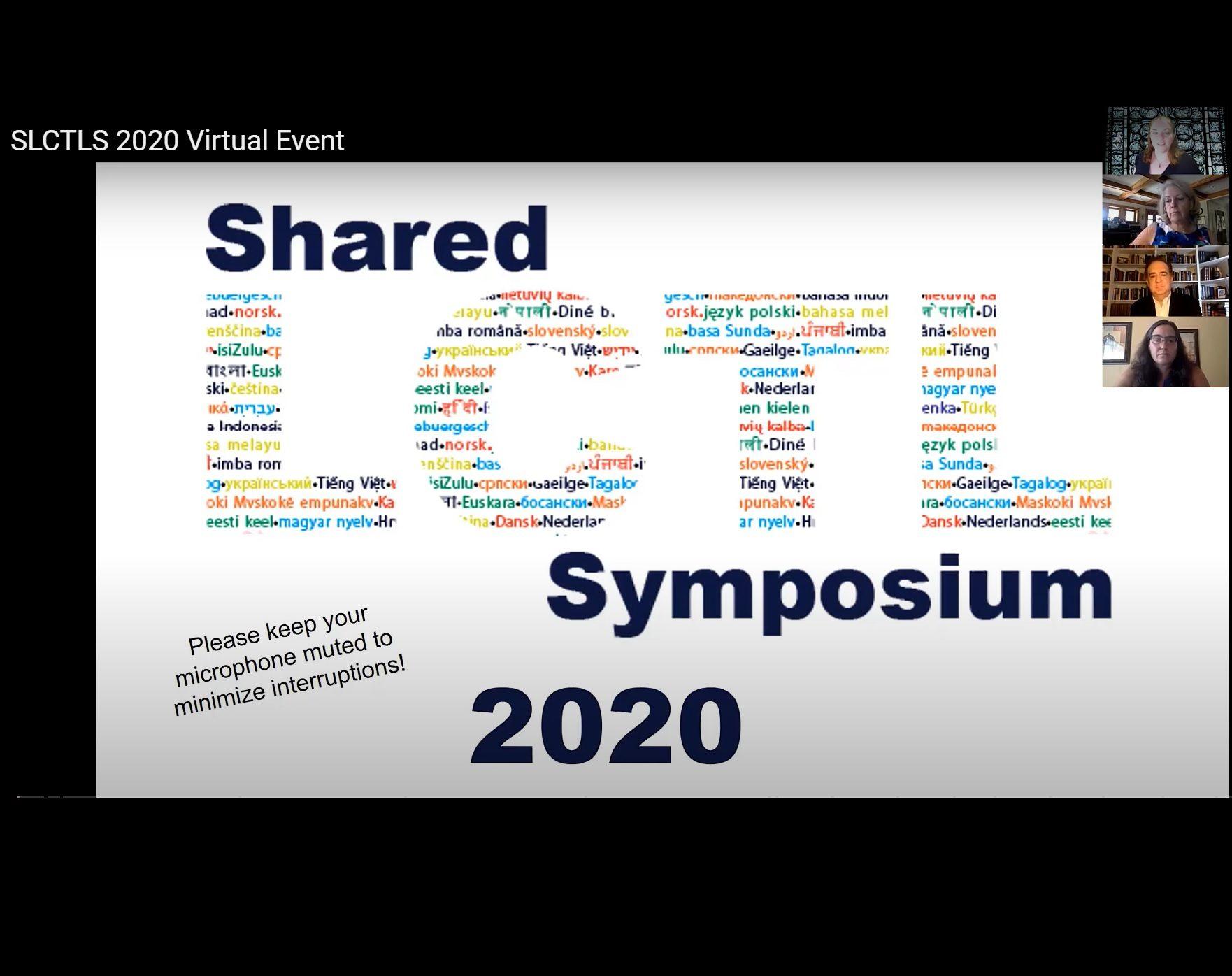 Shared LCTL Symposium 2020